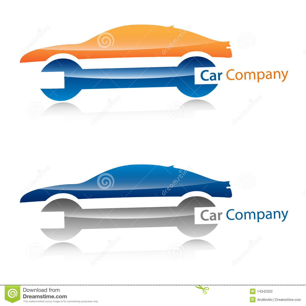 Car Company Logo Stock Vector Illustration Of Company 14342322