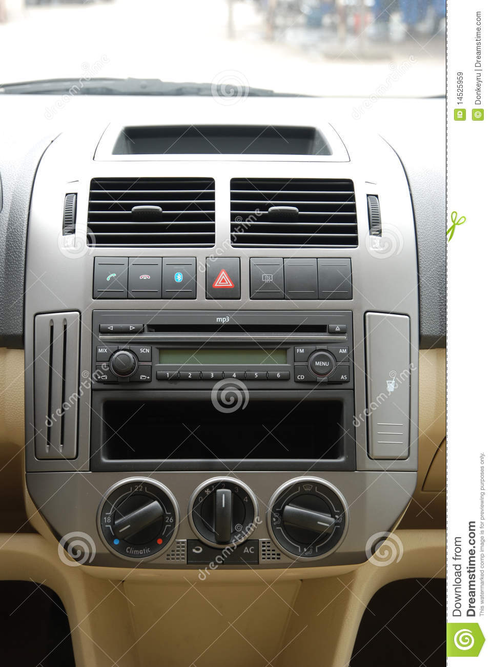 Vehicle Control Panel : Car control panel cartoon vector cartoondealer