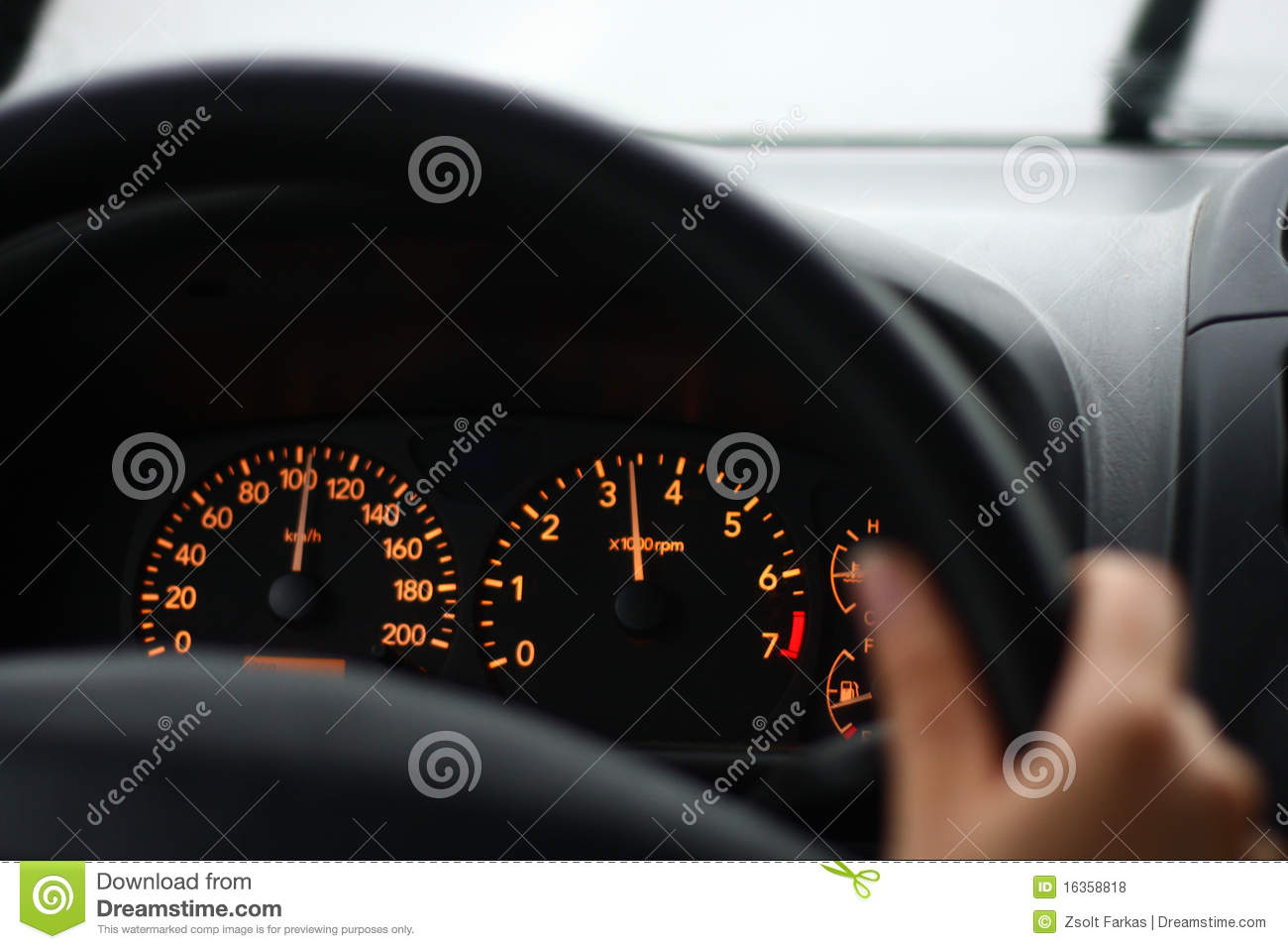 Vehicle Control Panel : Car control panel royalty free stock photos image