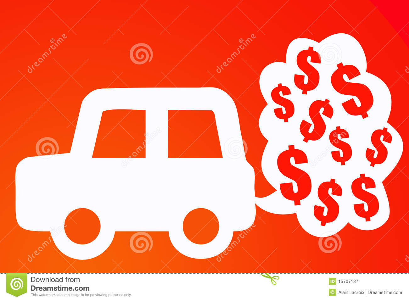 Car Costs Royalty Free Stock Photography Image 15707137