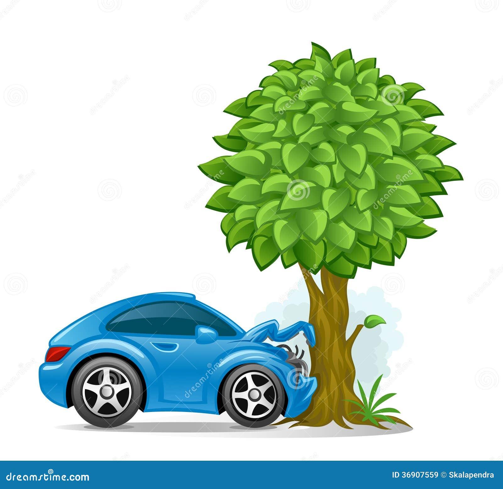 Home Design 3d Keeps Crashing: Car Crashed Into Tree Royalty Free Stock Images