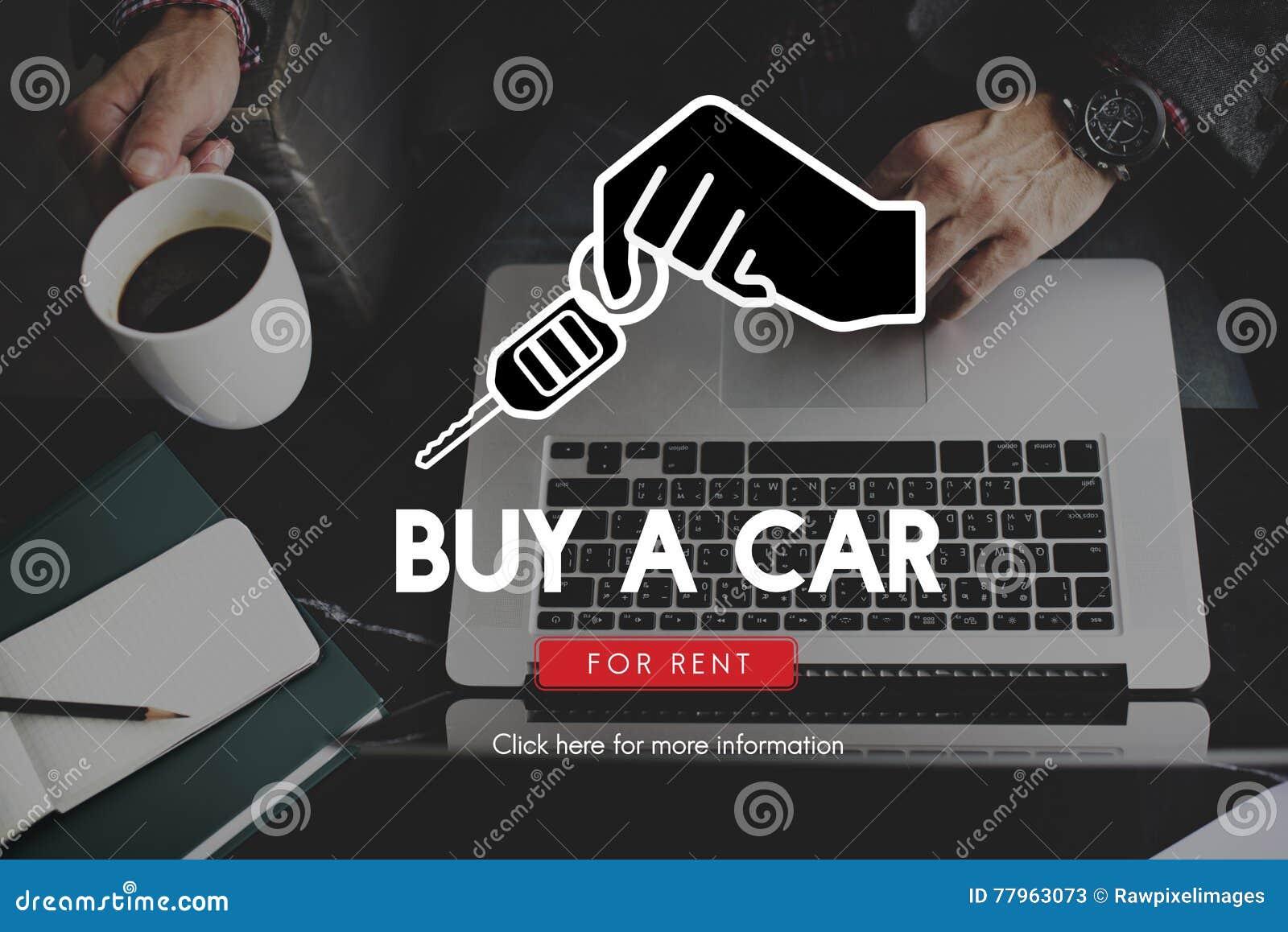 Car Dealer Buy New Service Concept