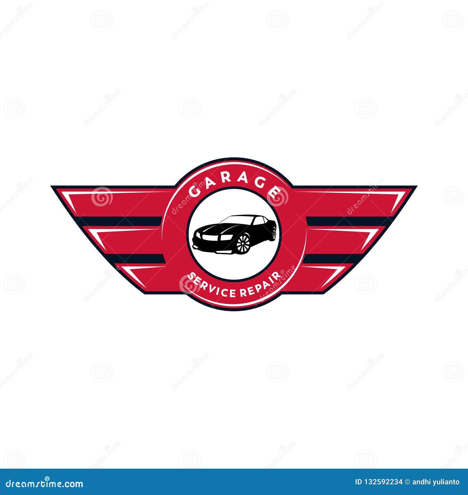 Car Dealer Or Maintenance Service Vector Logo Design Or Illustration