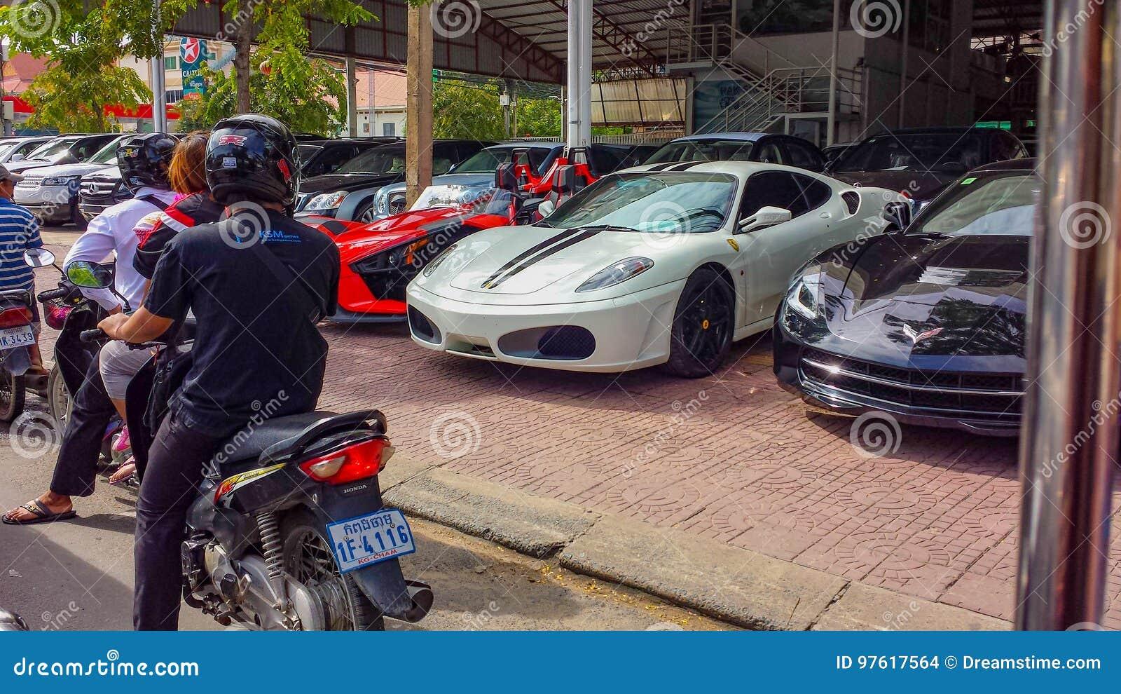 Car dealership cambodia editorial stock image  Image of khmer - 97617564
