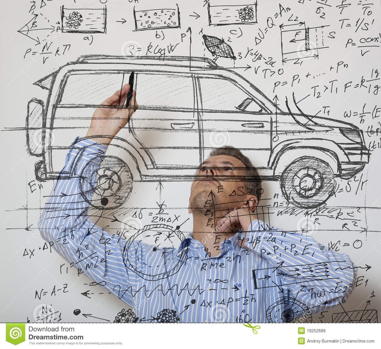 Car designer stock image image of research analyzing for Stock car a couture 2015