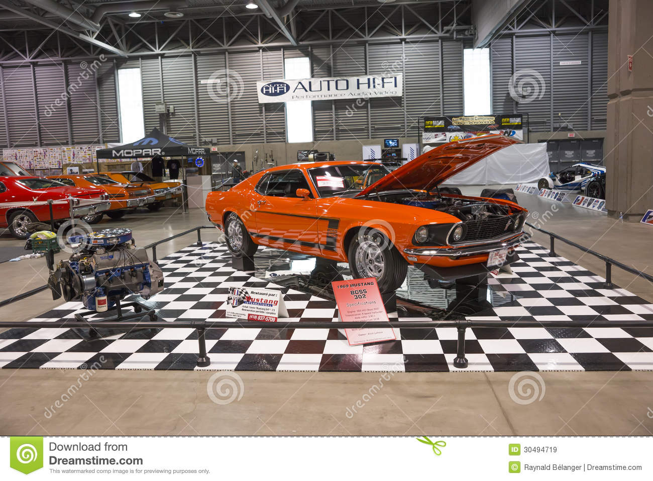 Car Display Editorial Stock Image Image Of Horsepower - Car display