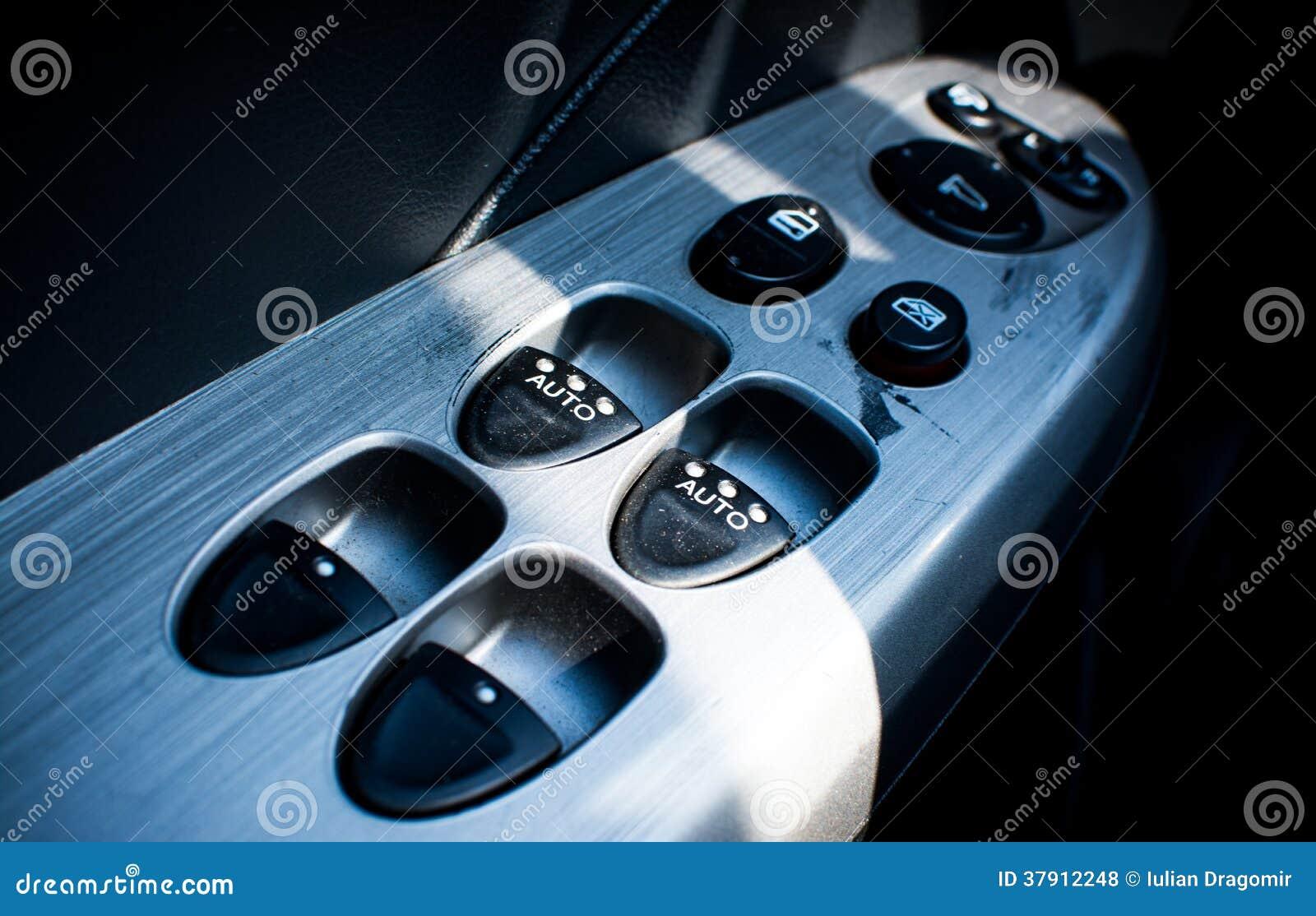 Car Door Control Buttons