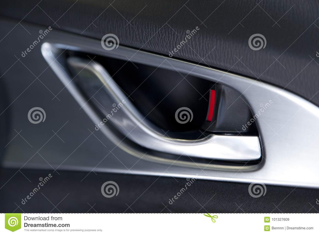 car door handle stock image image of mirror unlocking 101327609. Black Bedroom Furniture Sets. Home Design Ideas