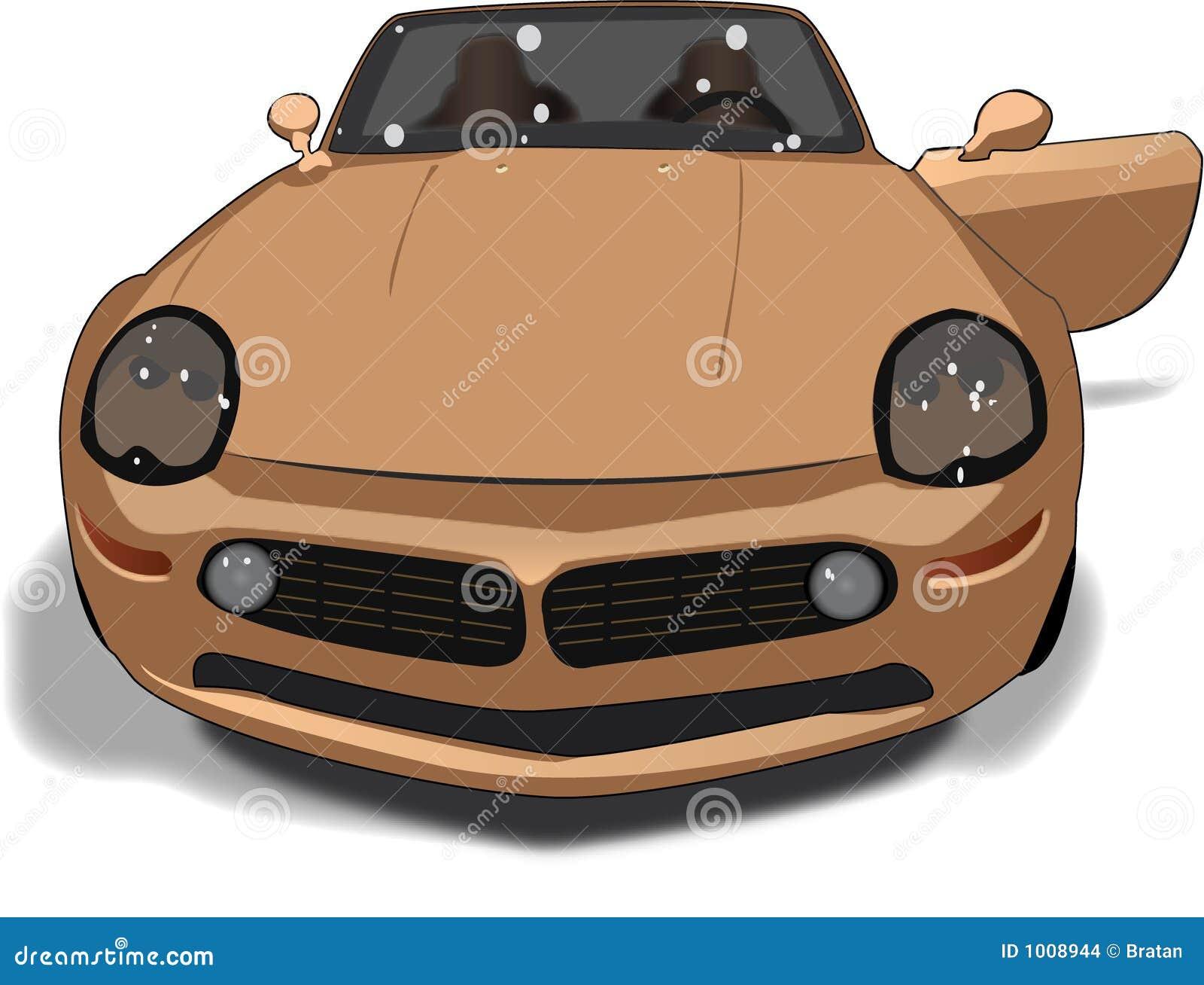 Race Car With Door Open