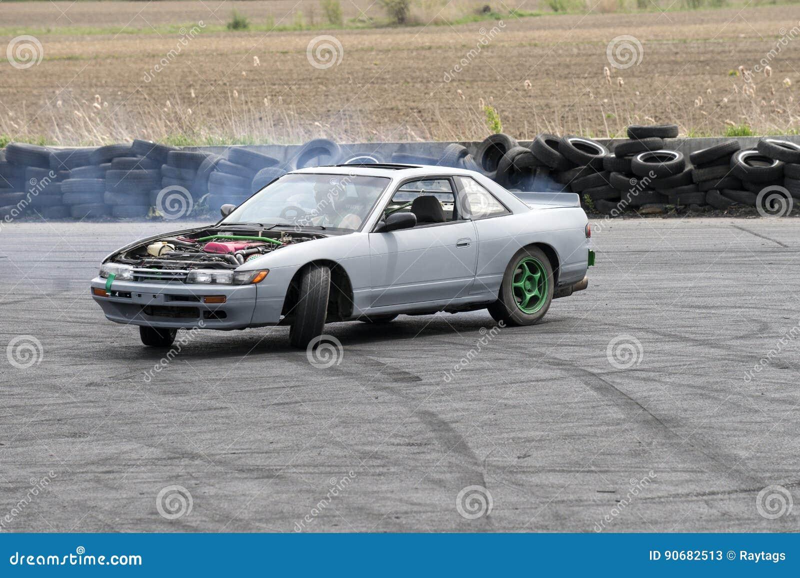 Car drifting editorial stock photo  Image of events, formula