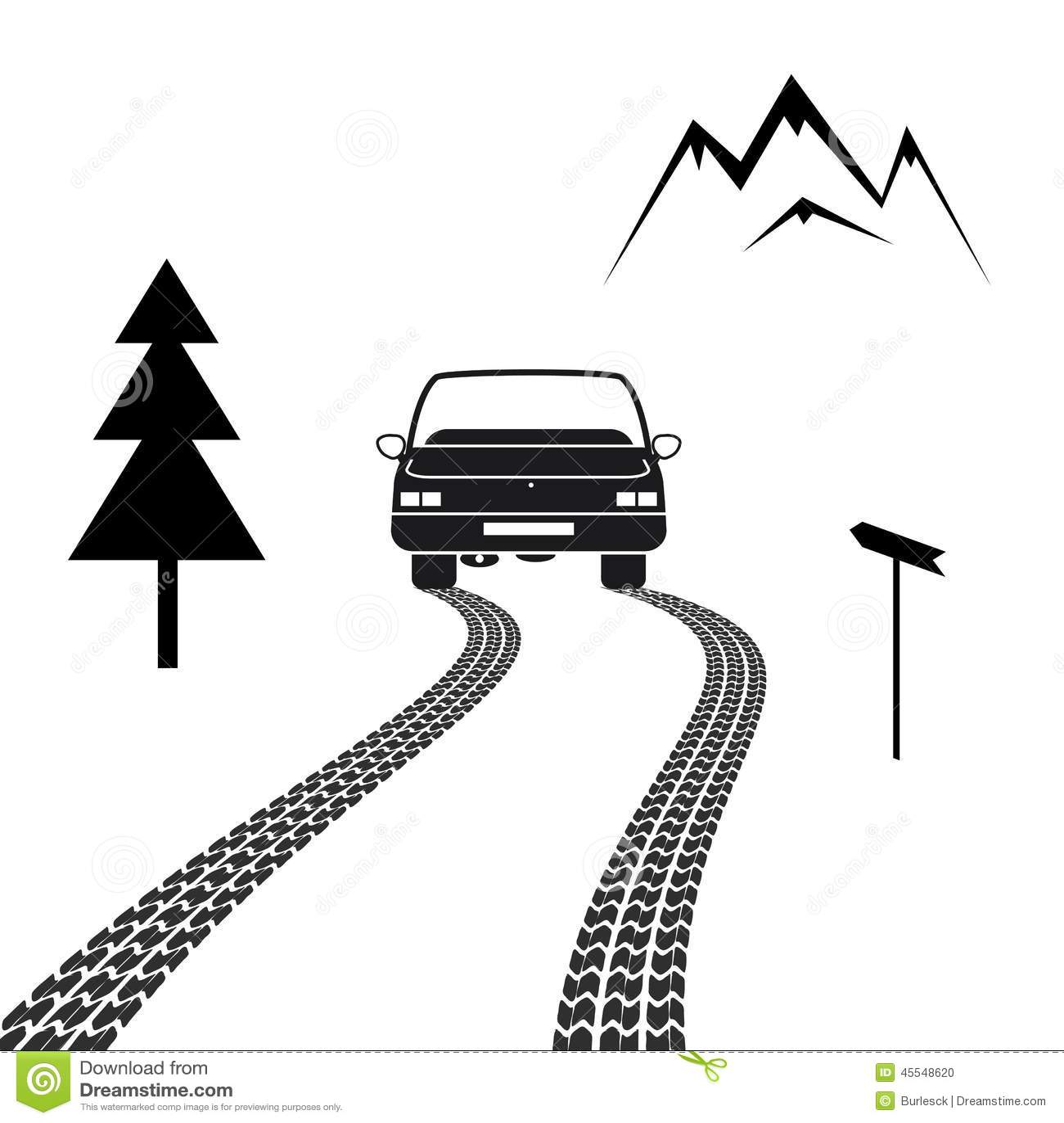 car and driver clip art