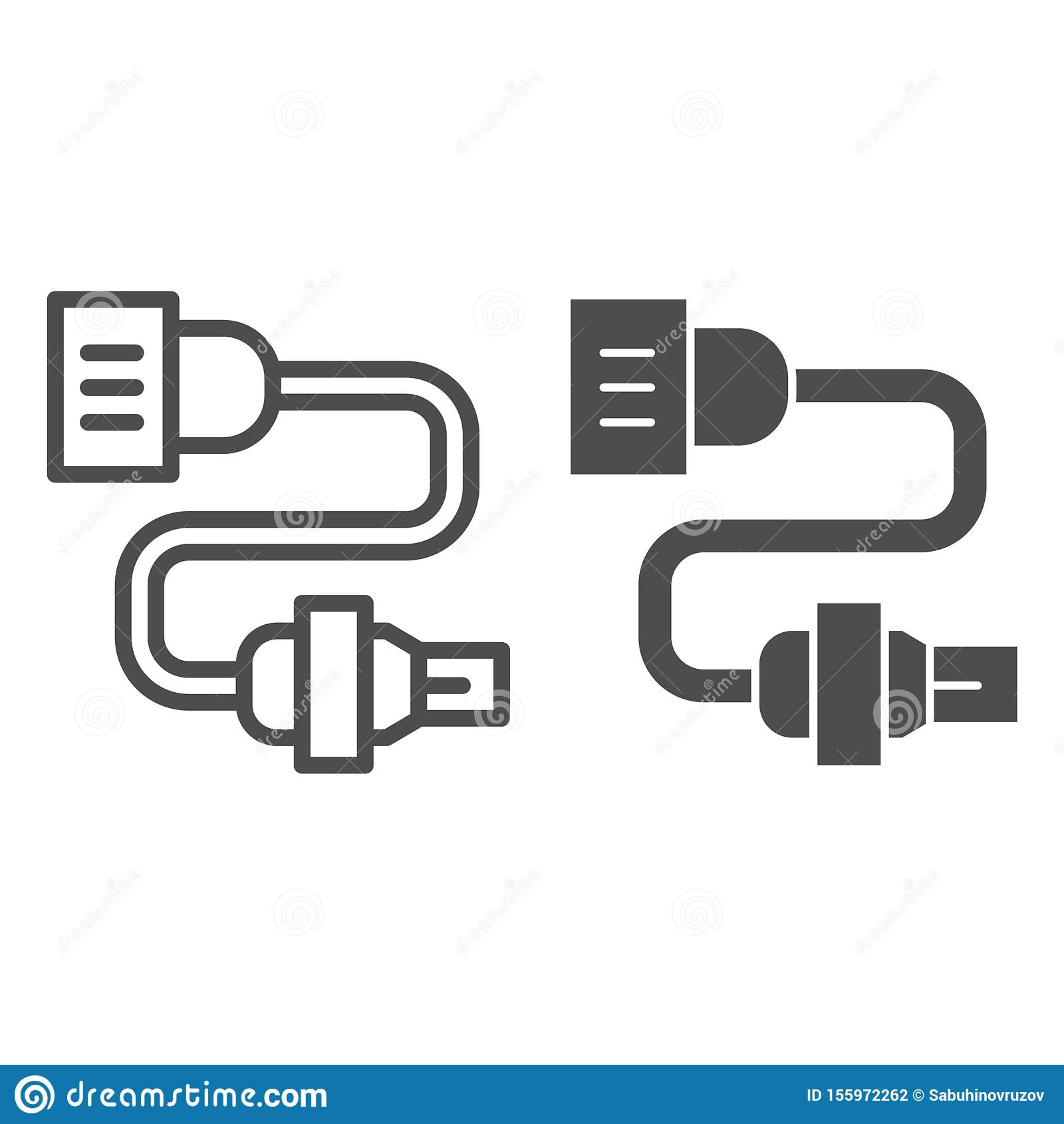 Car Electrical Wiring Line And Glyph Icon. Automobile Plug ... on electrical engineering, knob-and-tube wiring, wiring diagram, national electrical code, electric motor, circuit breaker, electrical conduit, junction box, three-phase electric power, distribution board, earthing system, power cord, electric power distribution, power cable, extension cord, ground and neutral, alternating current,