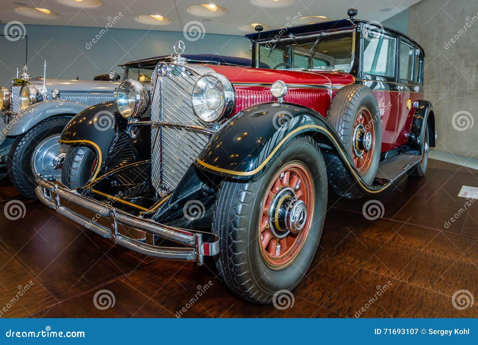 Car of emperor of japan hirohito mercedes benz 770 grand for Mercedes benz japan