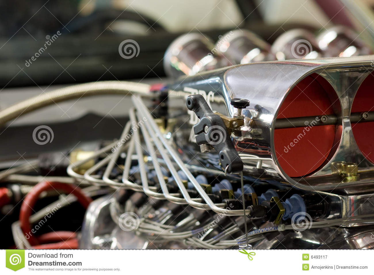 Car Engine Blower : Car engine blower royalty free stock photography image