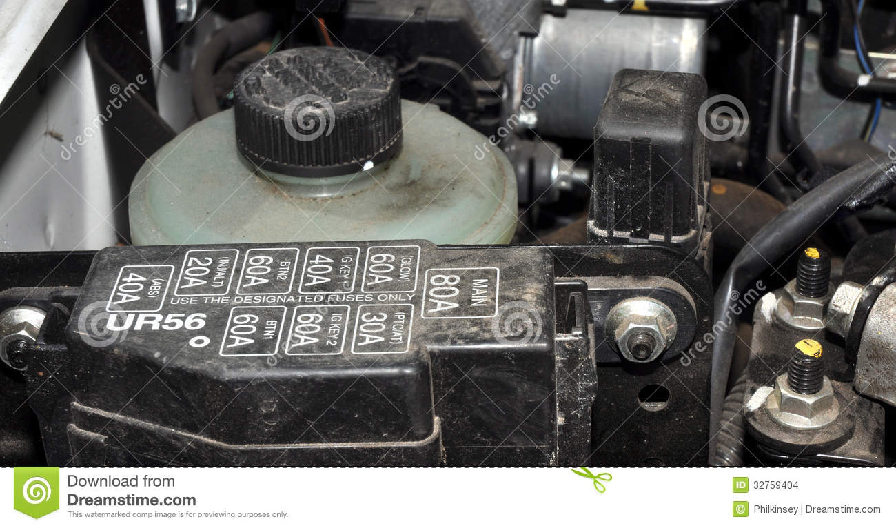car engine fuse box stock images image 32759404 car engine fuse box
