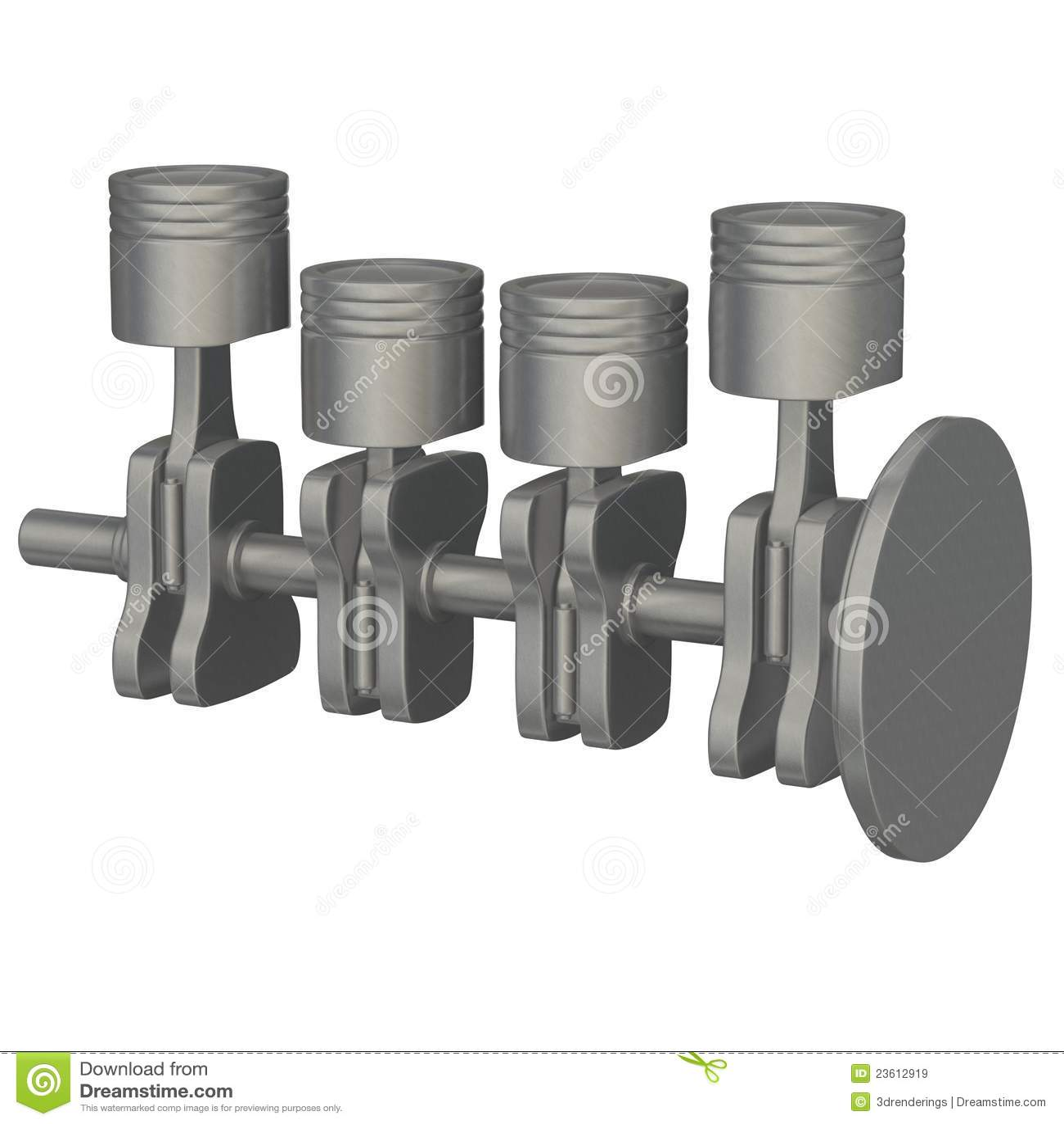 Car Engine Valves Stock Illustration Image Of Valve 23612919