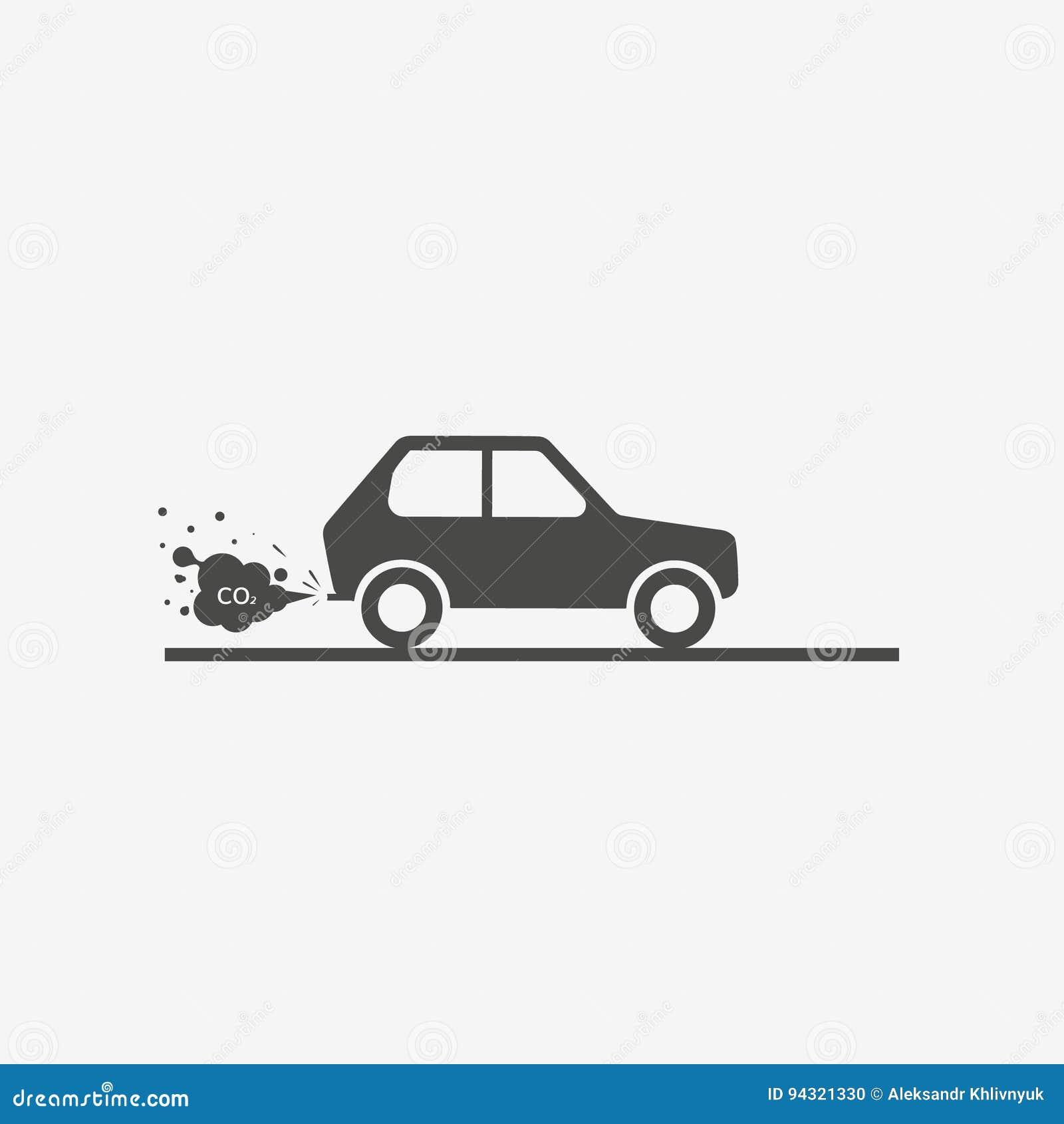 Car Exhaust Co2 Stock Illustration Illustration Of Environment