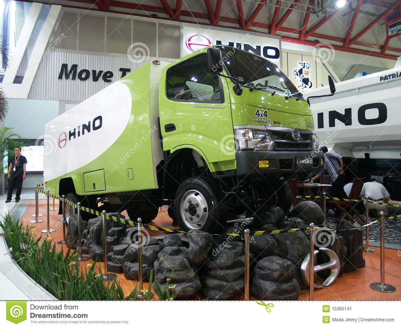 Download Car Exhibition in Jakarta editorial photo. Image of truck - 15365141
