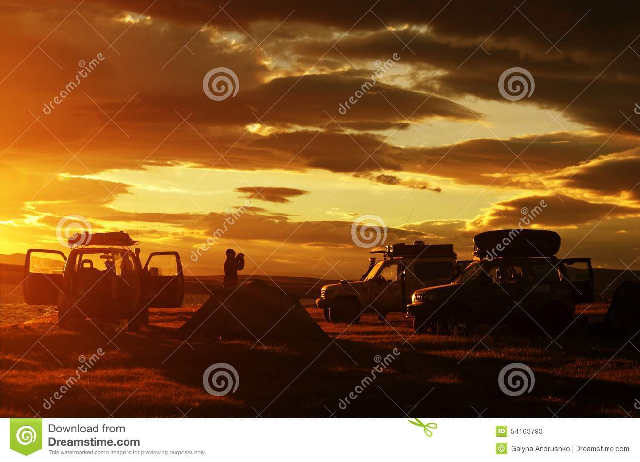 Car in expedition
