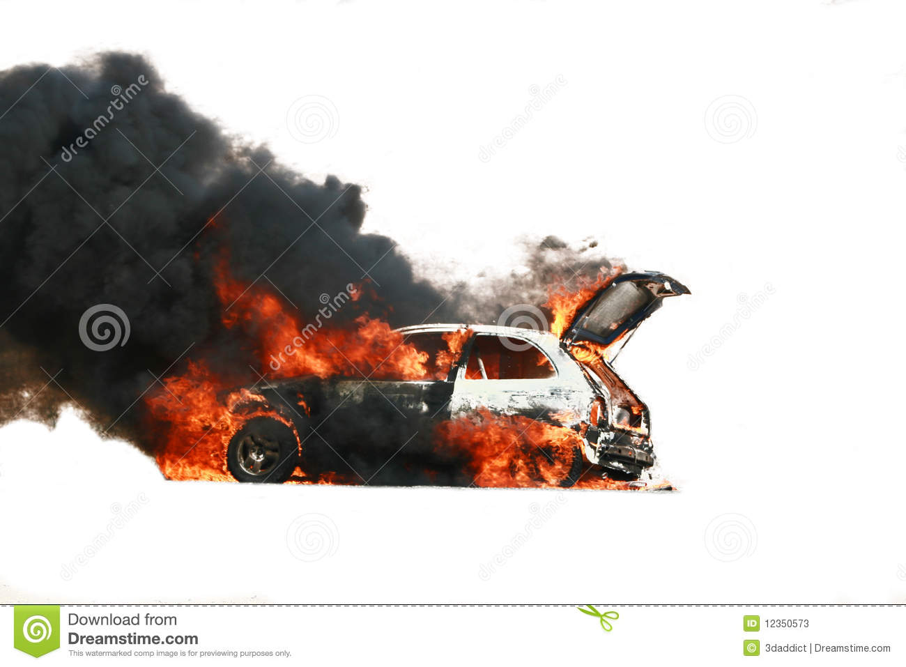Car Explosion Stock Image. Image Of Glass, Body, Wheel