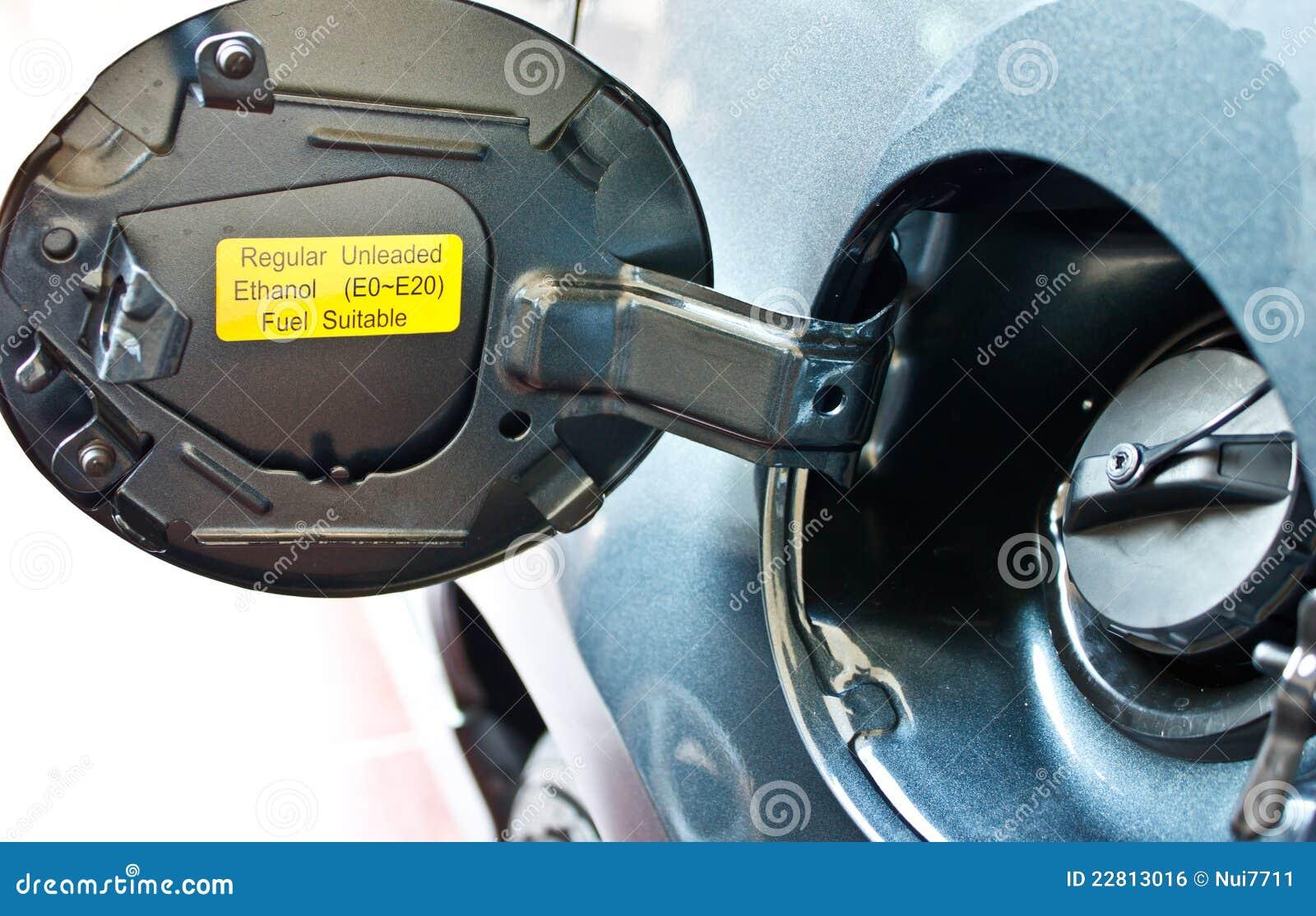 Automotive Gas Cap : Car gas cap royalty free stock image