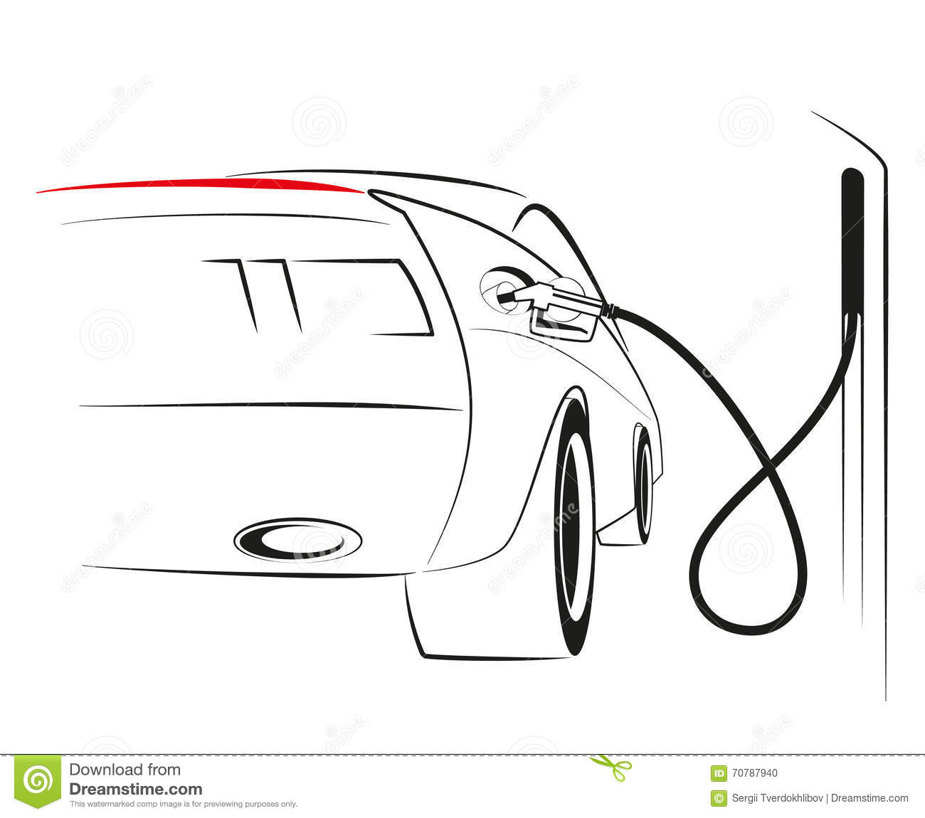 Lovely Car Engine Sketch Contemporary - Electrical Circuit Diagram ...