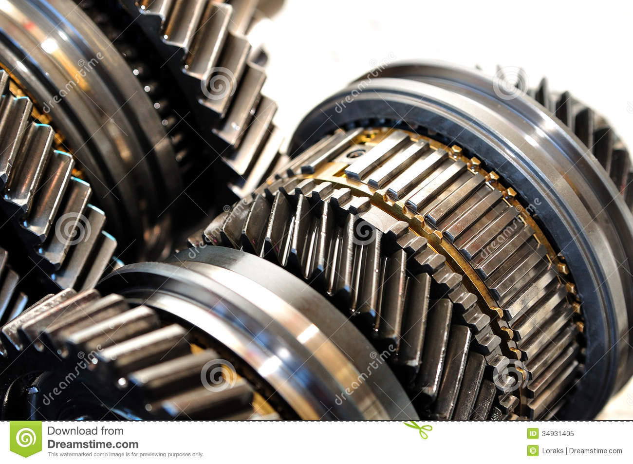 Car gears. stock image. Image of gear, isolated, gearbox ...