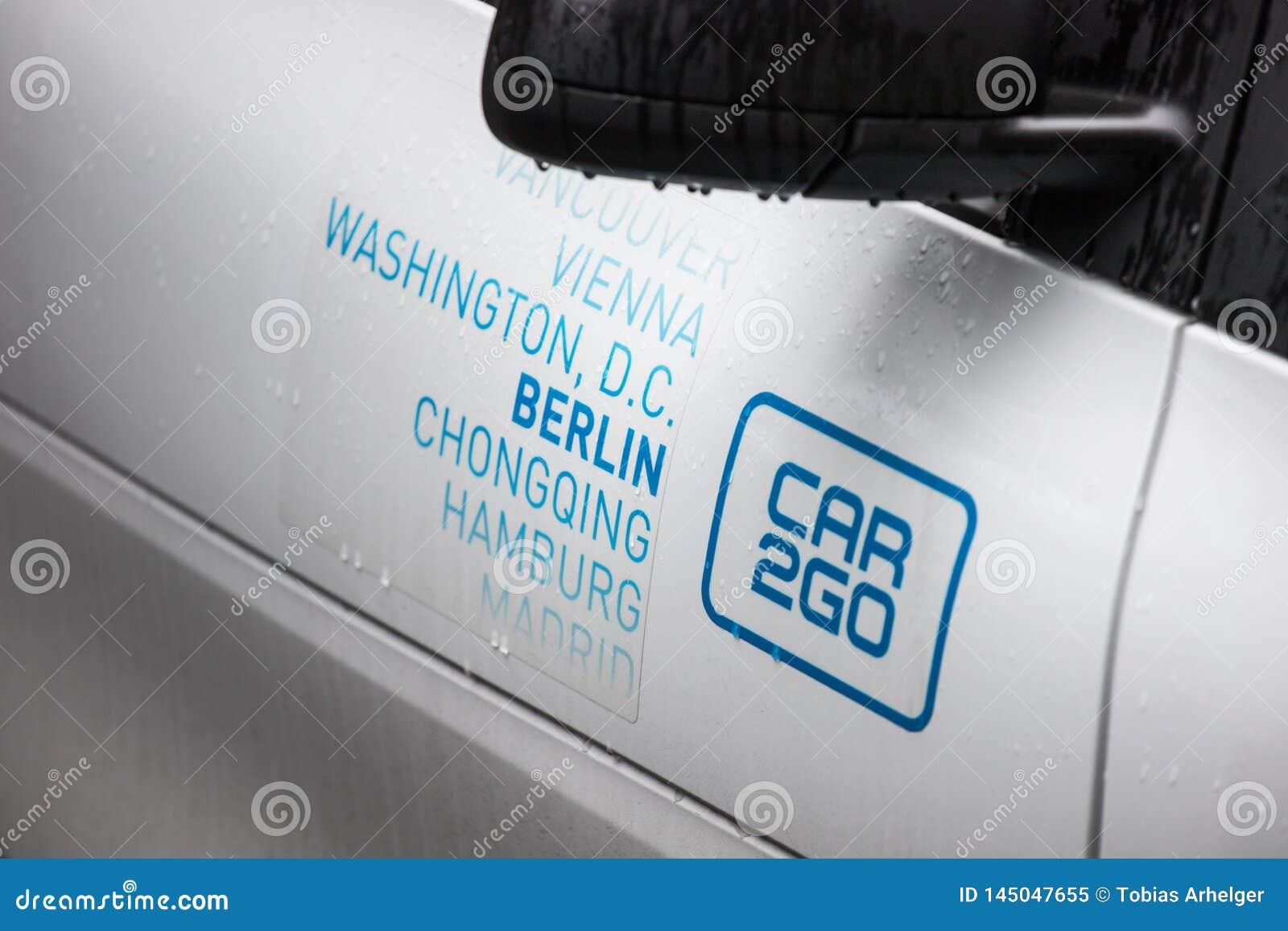 Car2go in Berlijn Duitsland