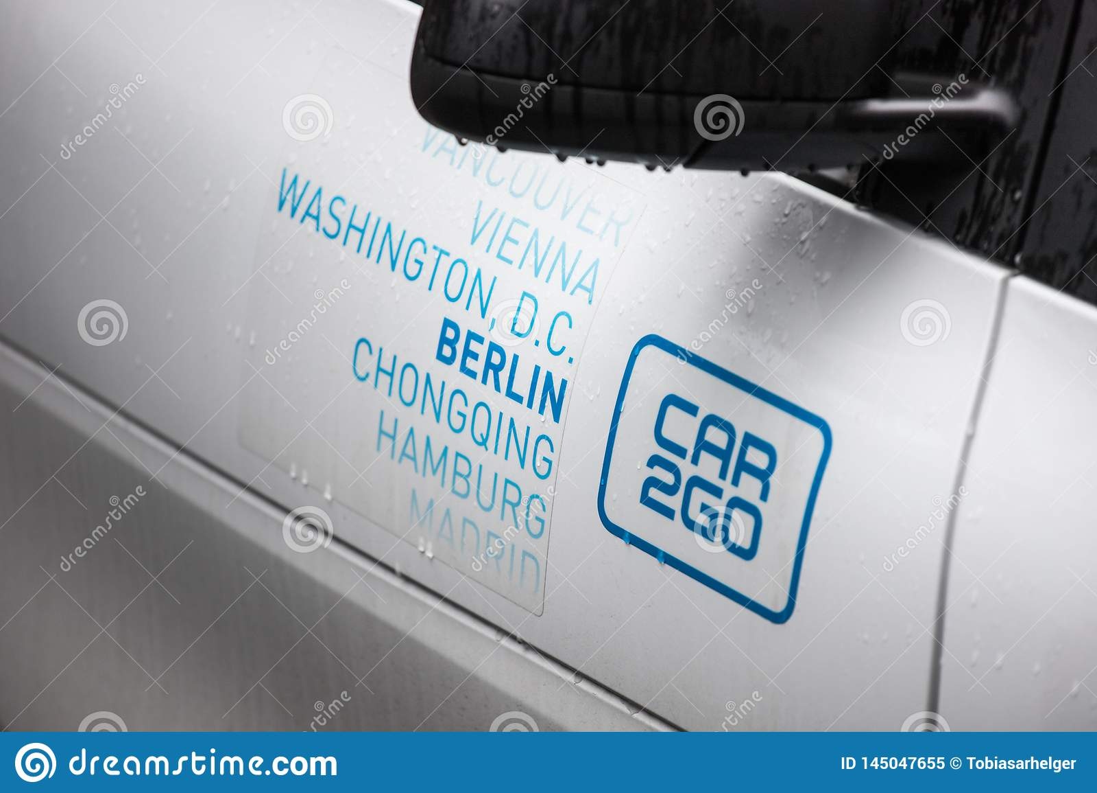 Car2go in Berlin Deutschland