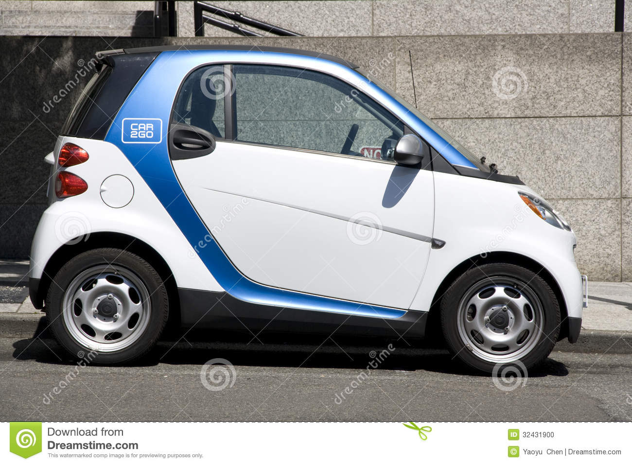 Car To Go Seattle >> Car2go Small Electric Rental Car Editorial Image Image Of