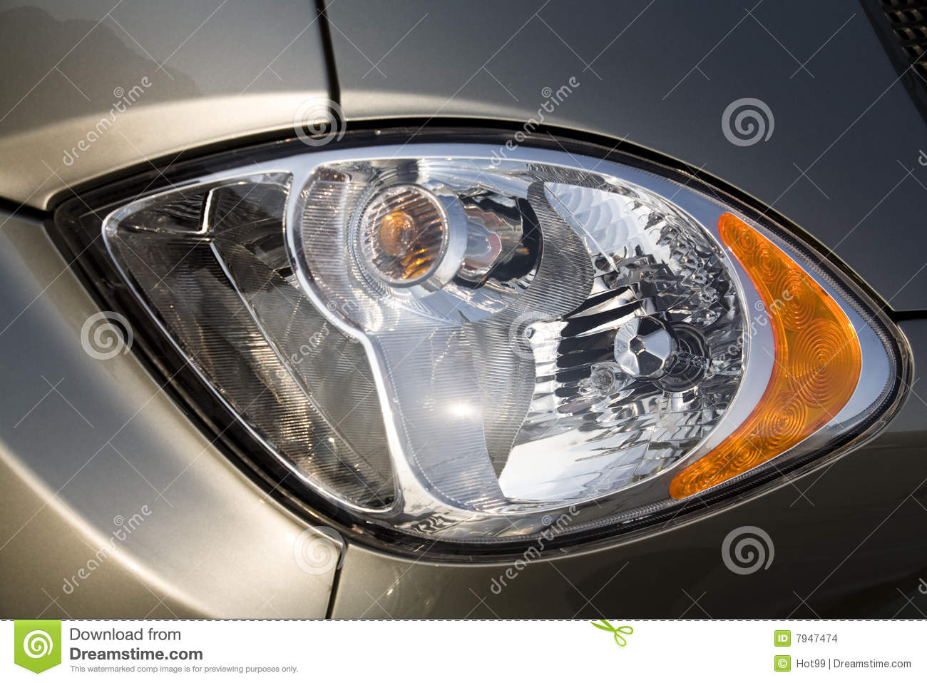 Car Headlight Stock Photo Image Of Lights Headlamp Reflector