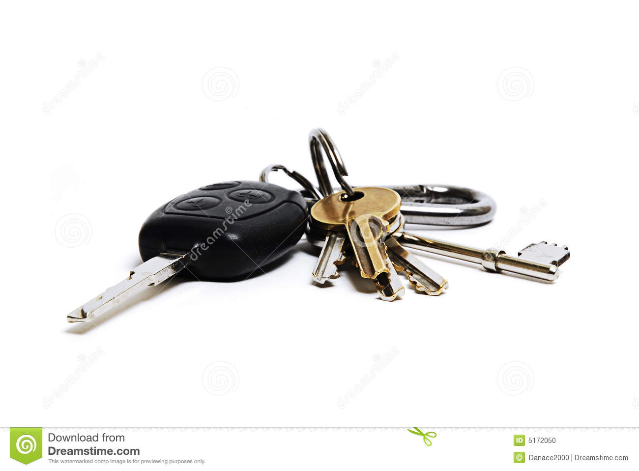 Car And House Keys Sto...