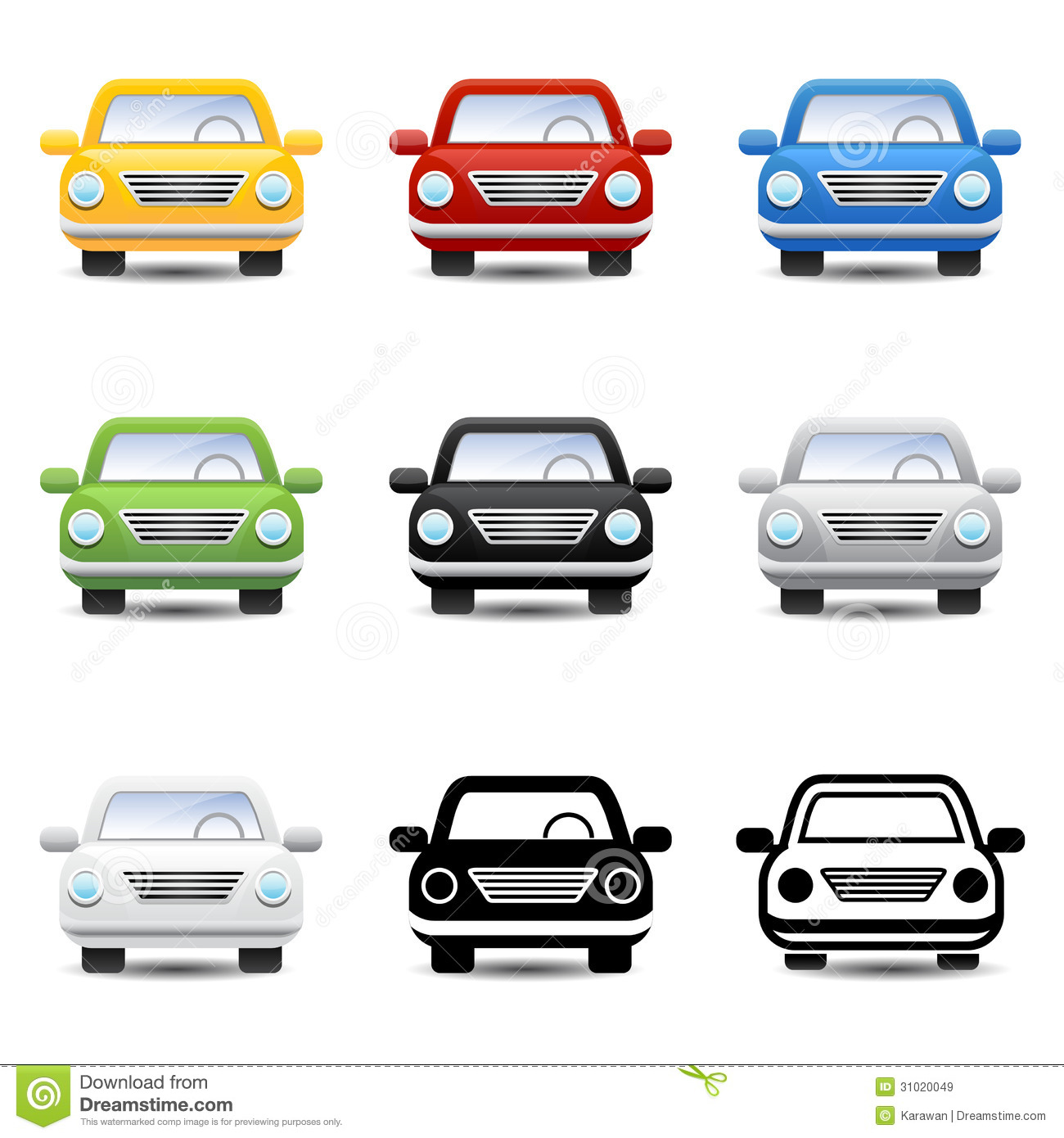 Car Icons Royalty Free Stock Images - Image: 31020049: dreamstime.com/royalty-free-stock-images-car-icons-vector-sport...