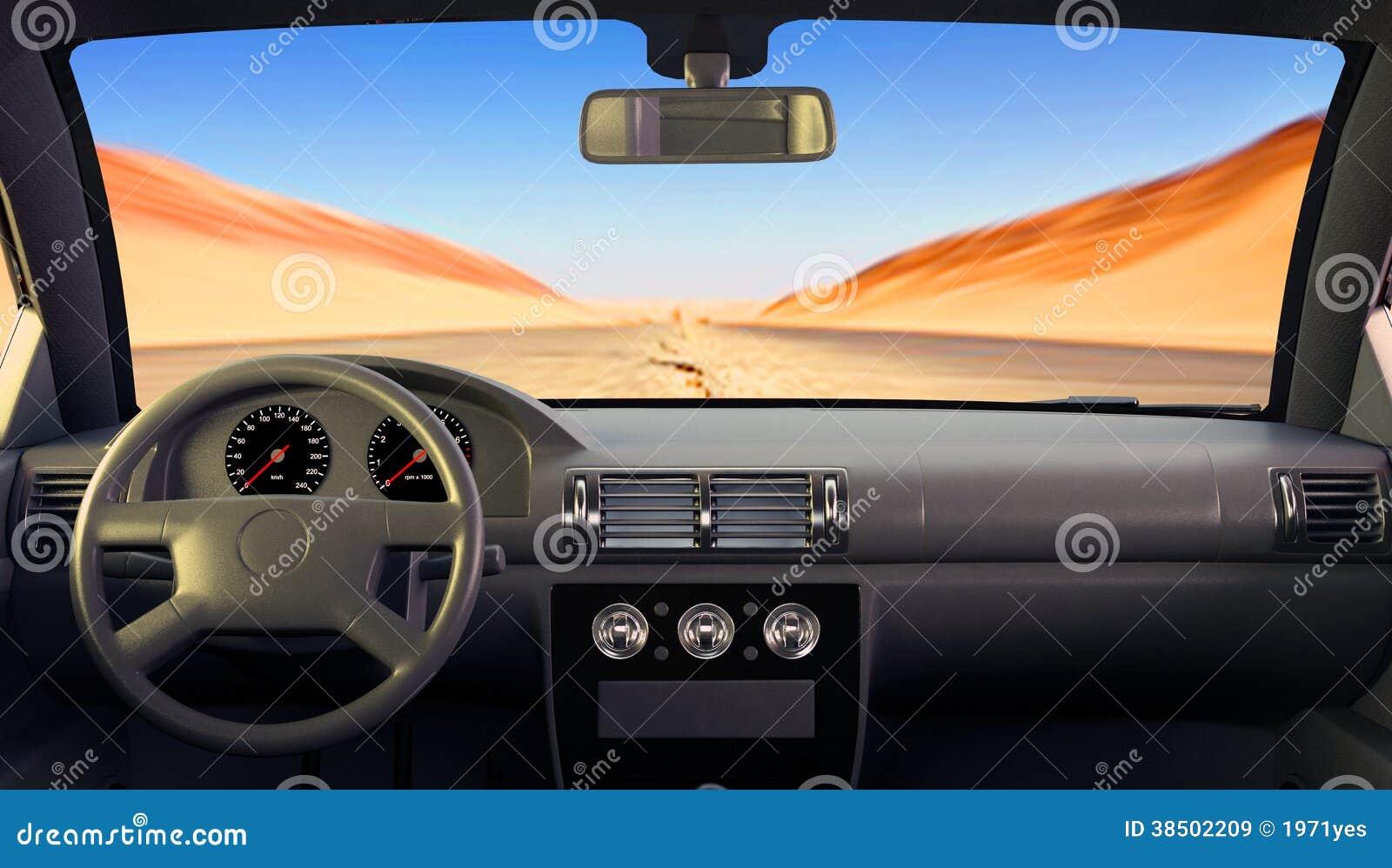 the car inside royalty free stock images image 38502209. Black Bedroom Furniture Sets. Home Design Ideas