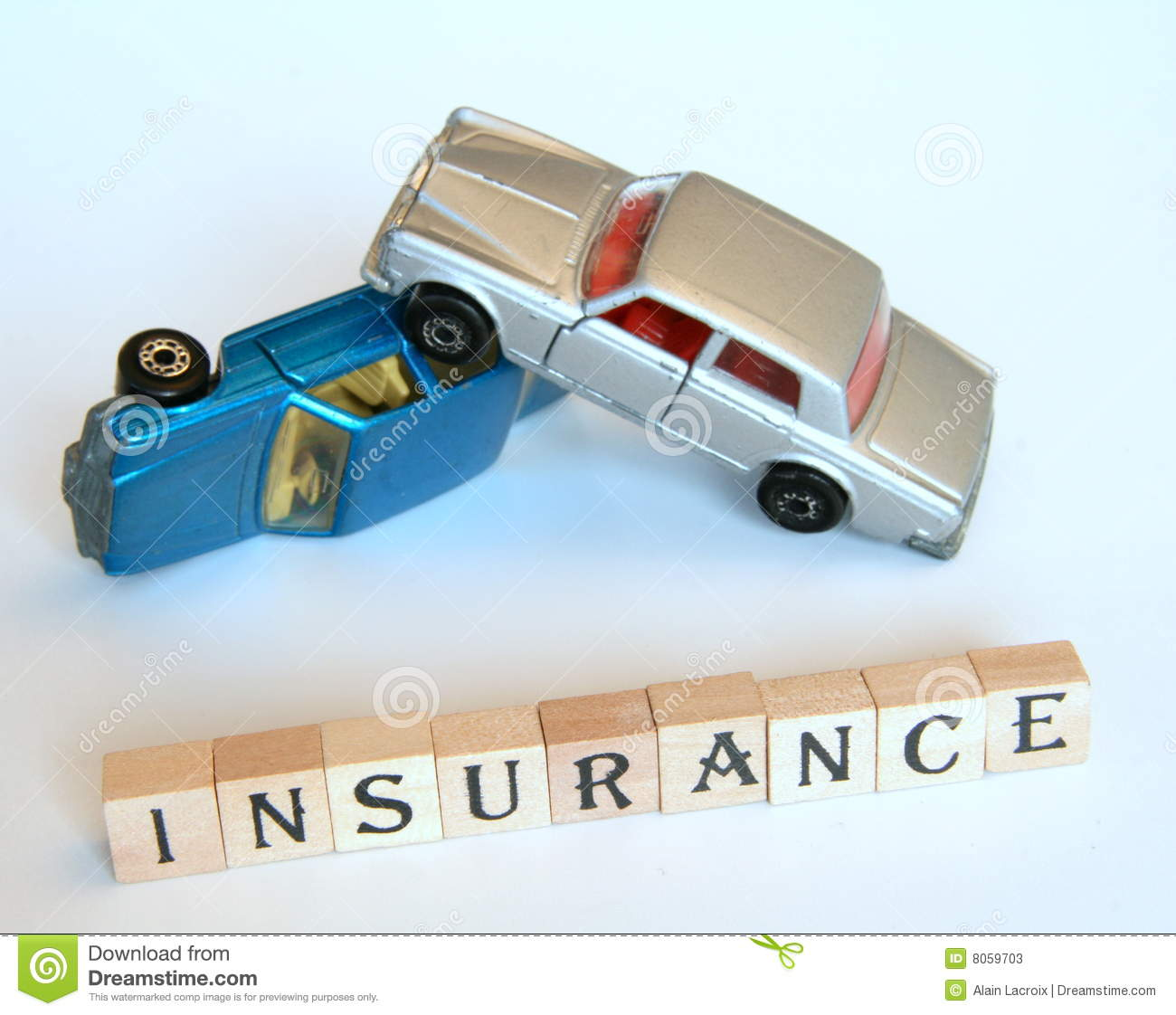 Car insurance isolated