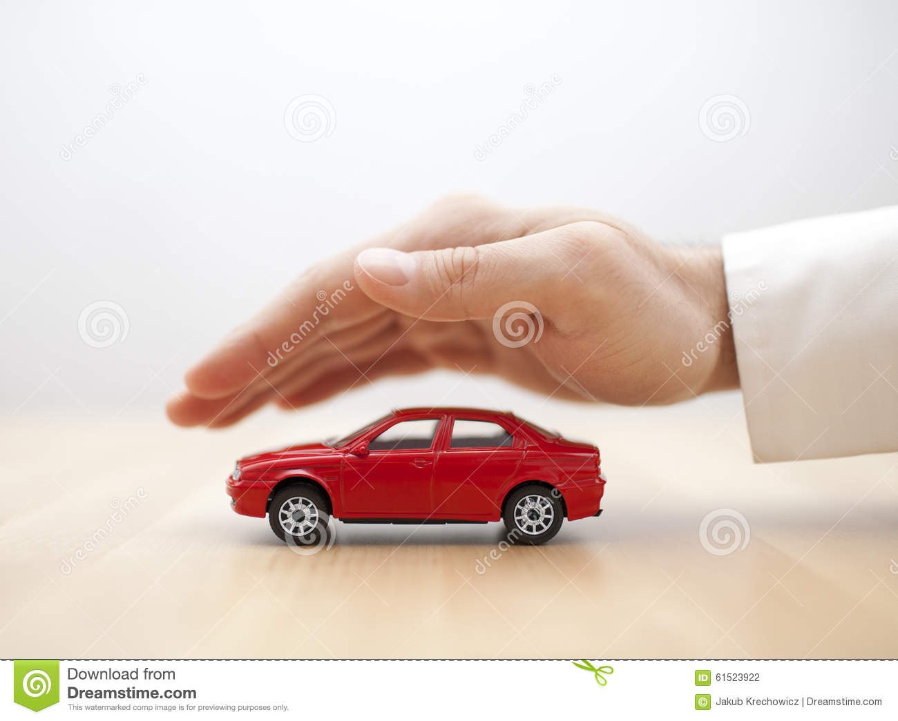 Car Insurance Stock Photo  Image: 61523922