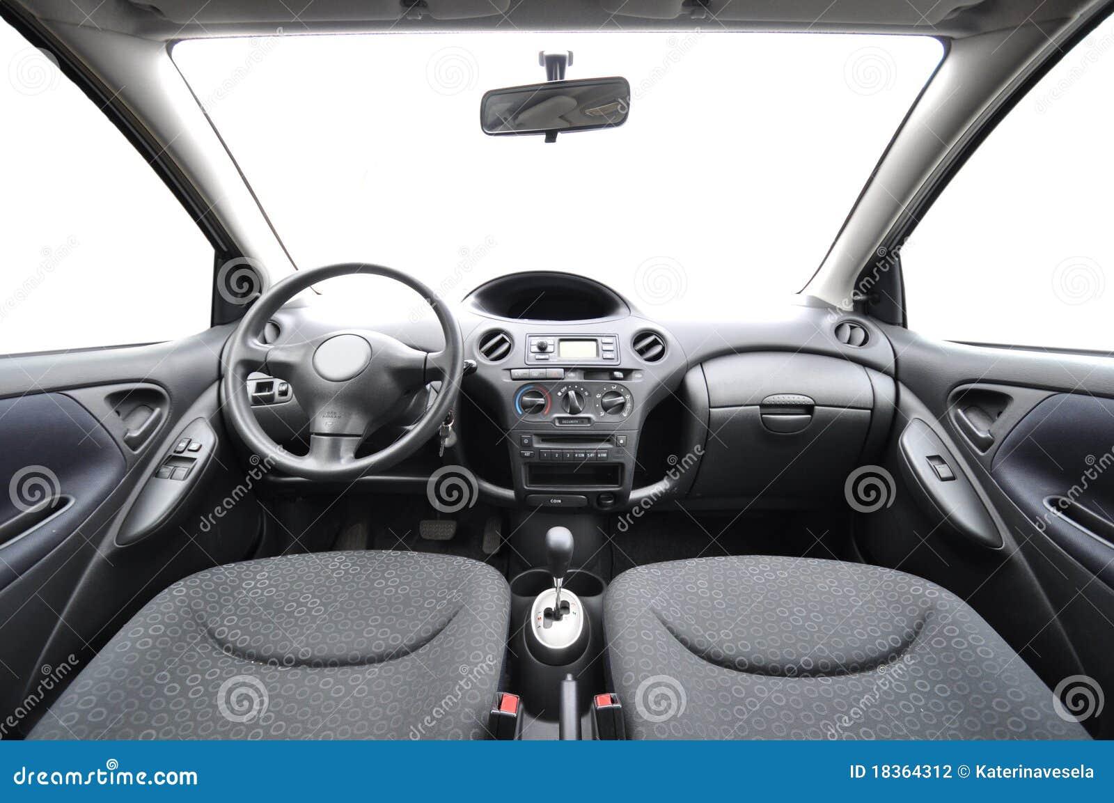 car interior stock photography image 18364312. Black Bedroom Furniture Sets. Home Design Ideas