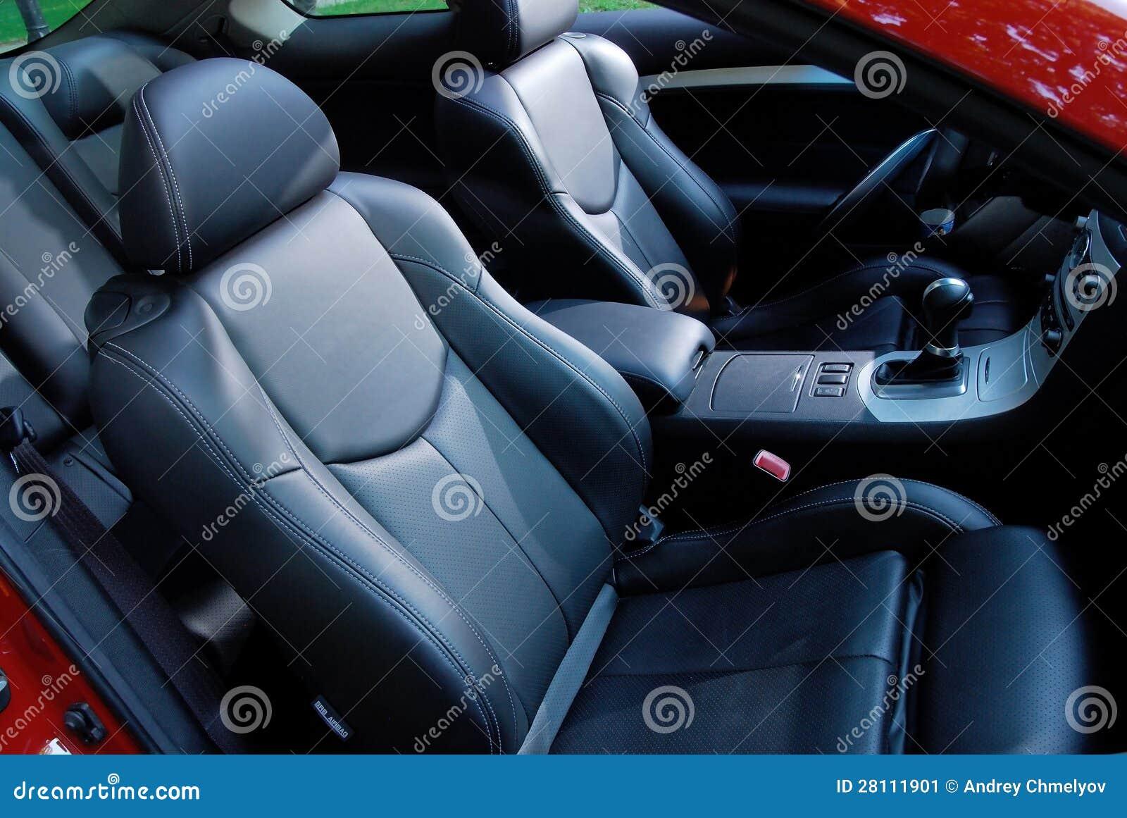 car interior stock image image 28111901. Black Bedroom Furniture Sets. Home Design Ideas