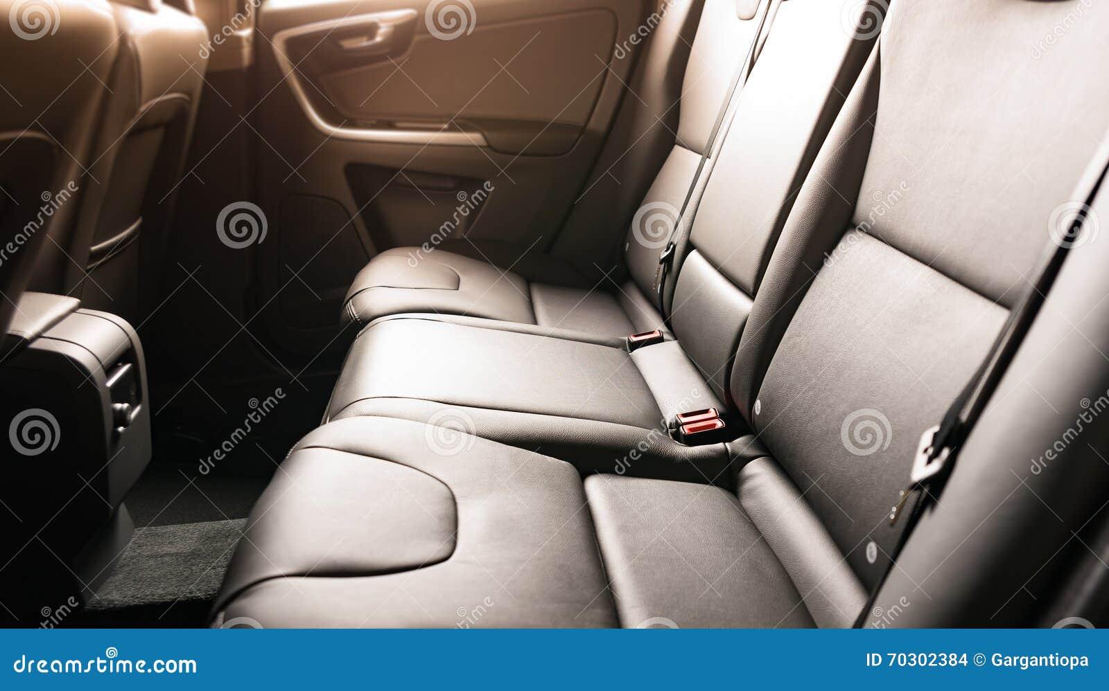 car interior black leather stock photo image 70302384