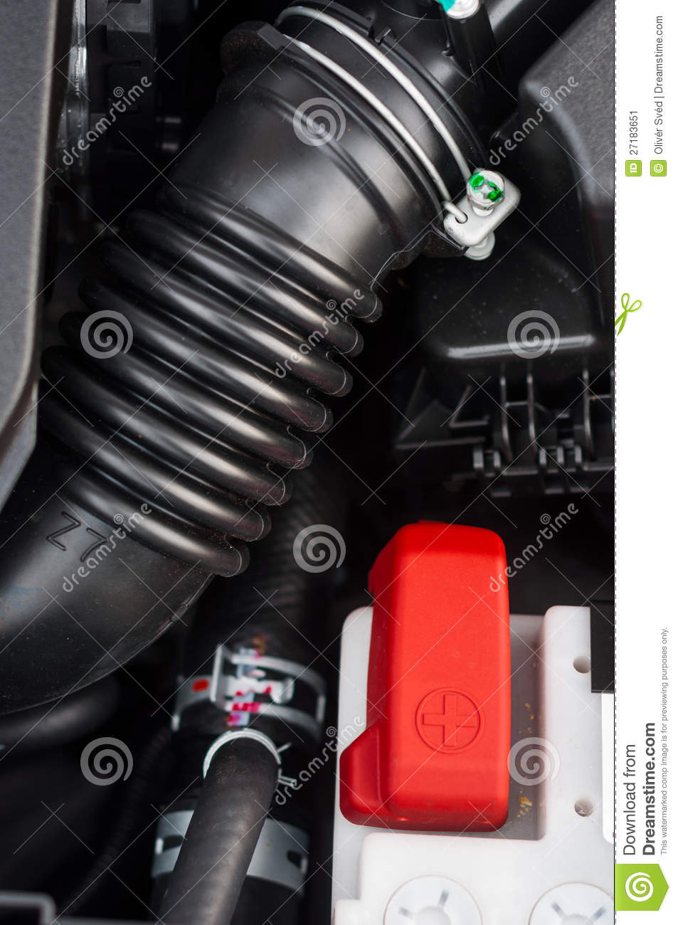 car interior with plastic pipe stock image image 27183651