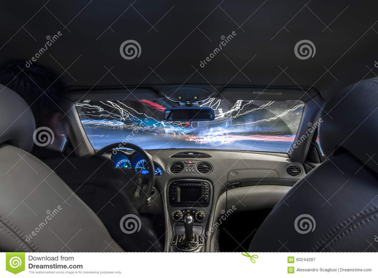driving at speed inside car view royalty free stock photo 8952789. Black Bedroom Furniture Sets. Home Design Ideas