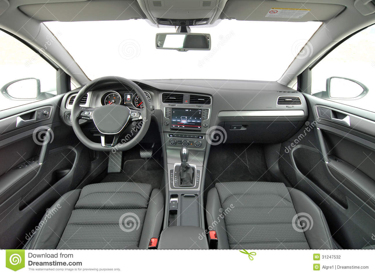 Car Interior Stock Photography Image 31247532