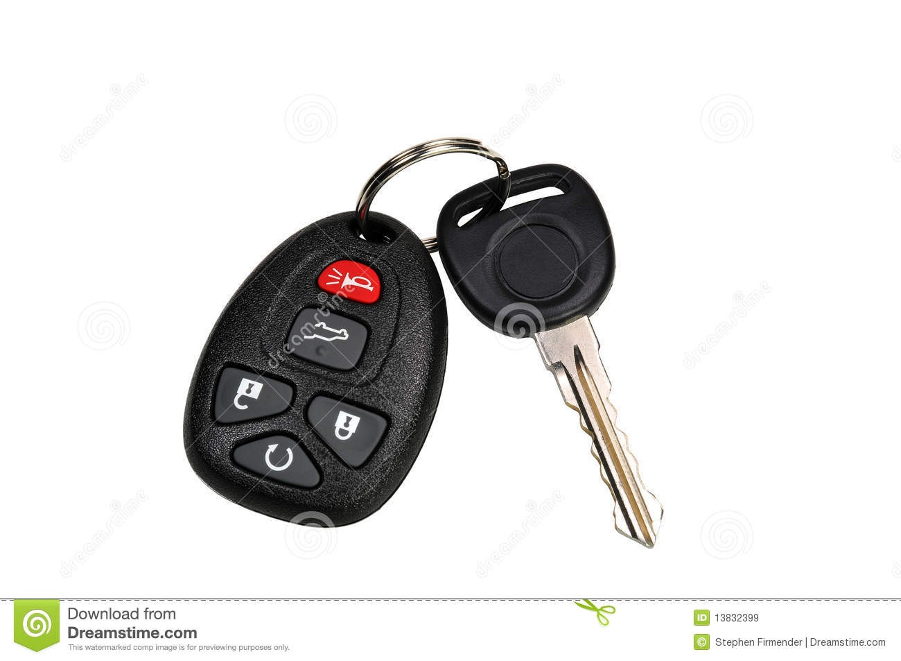 car keys stock image image of start buttons automobile 13832399. Black Bedroom Furniture Sets. Home Design Ideas