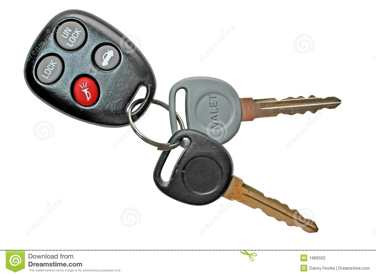 Car Keys With Remote Control Stock Photo Image Of Auto