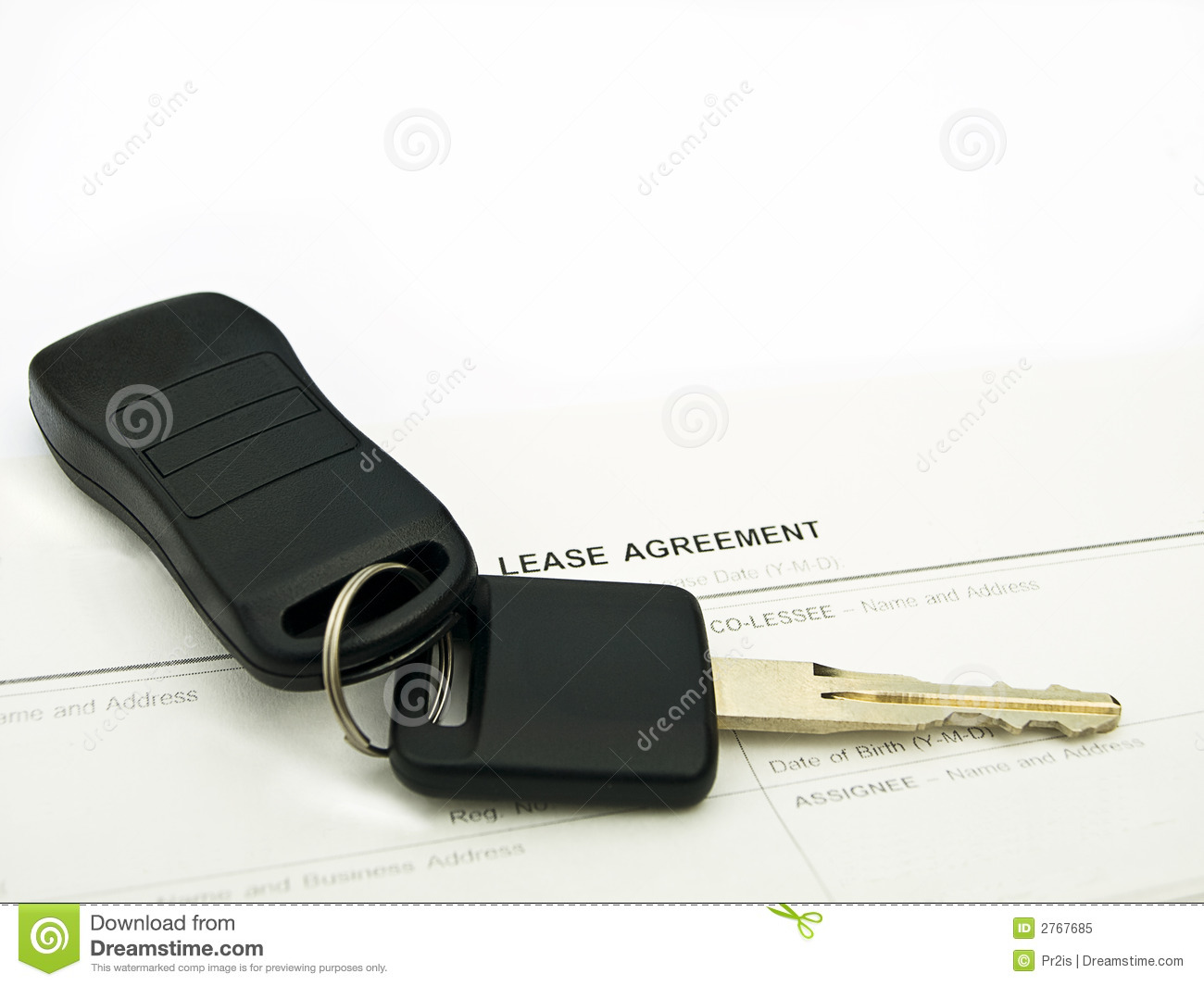 Car Lease Royalty Free Photo Image 2767685 – Car Lease Agreement