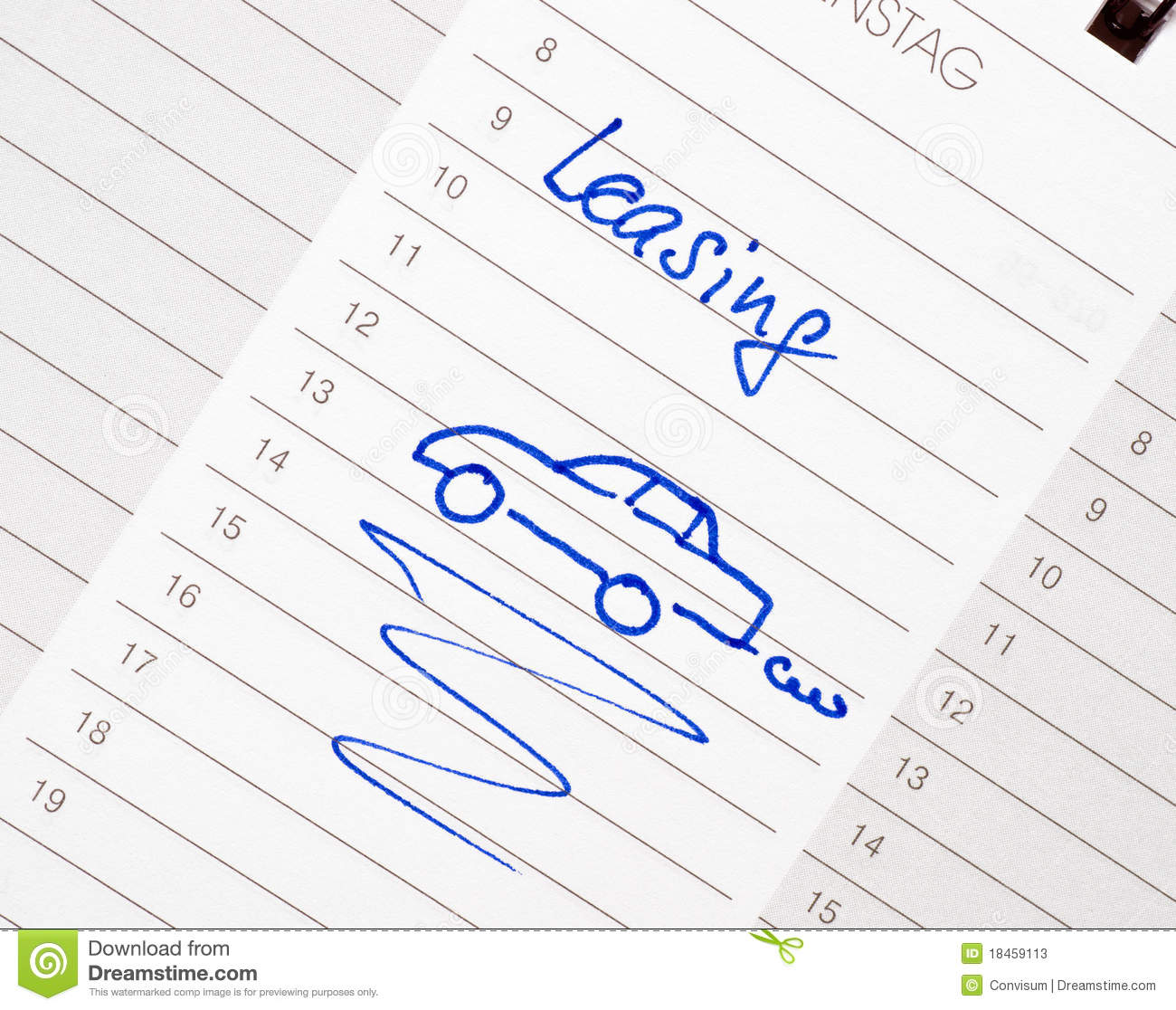 Car lease appointment