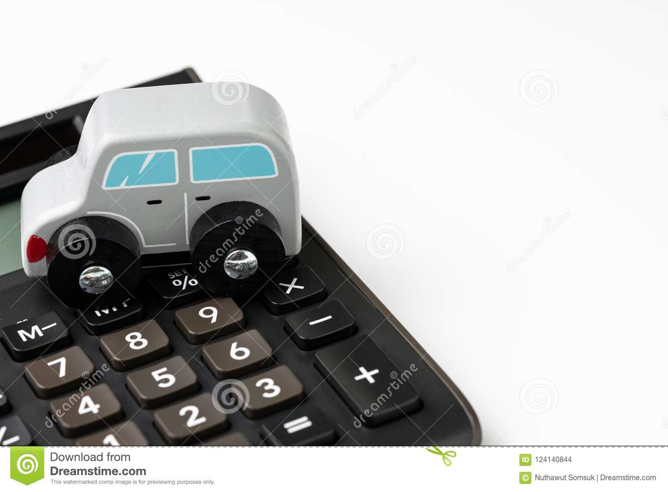 car leasing or insurance money and cost calculation concept min