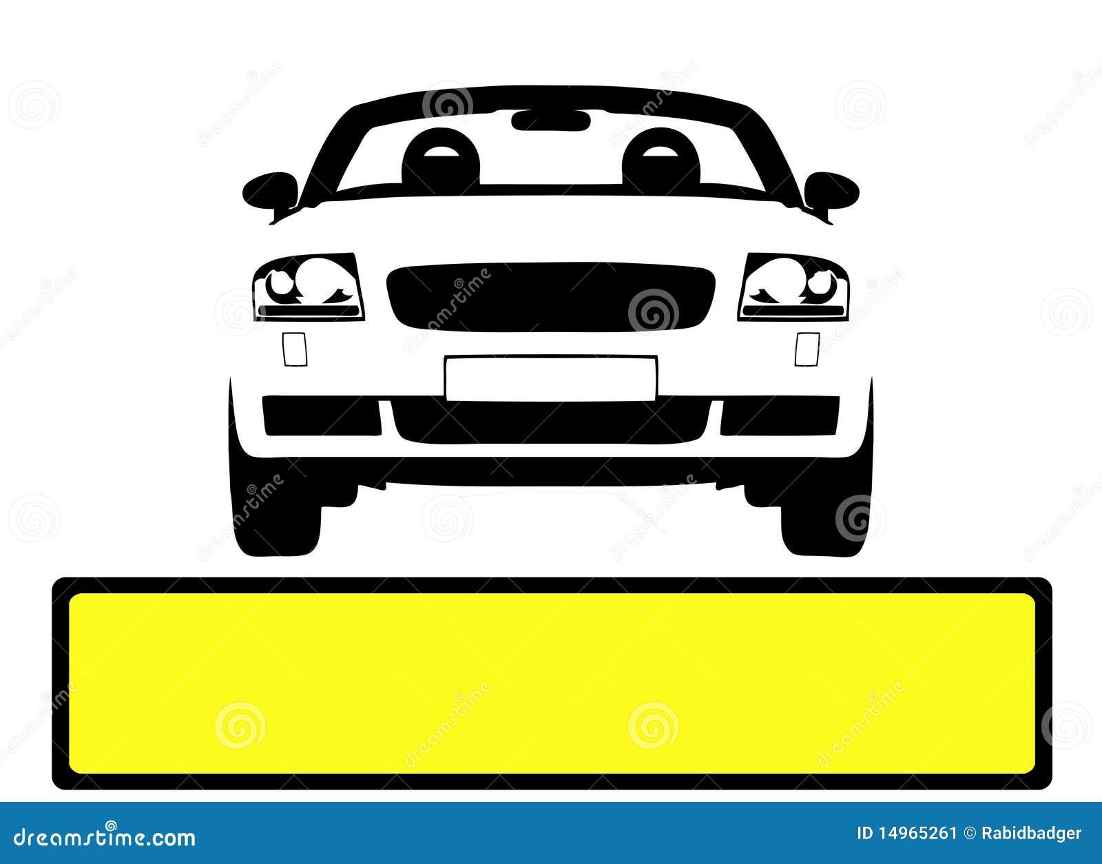 car licence plate stock image image 14965261. Black Bedroom Furniture Sets. Home Design Ideas
