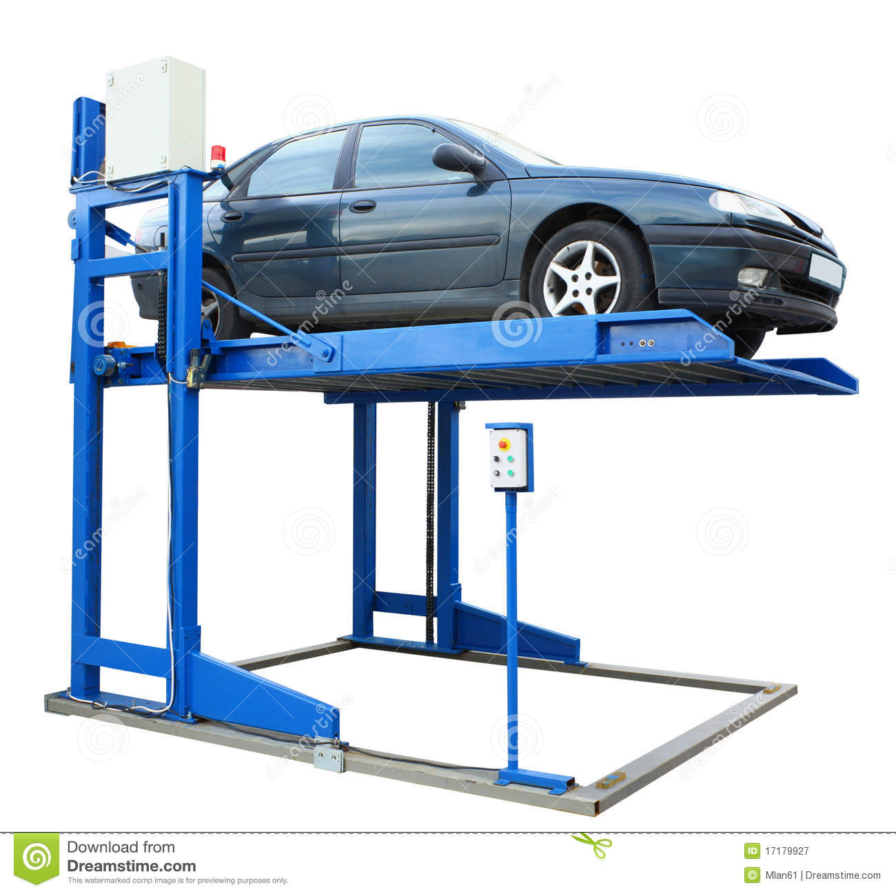 Car lift platform royalty free stock photography image Car lift plans