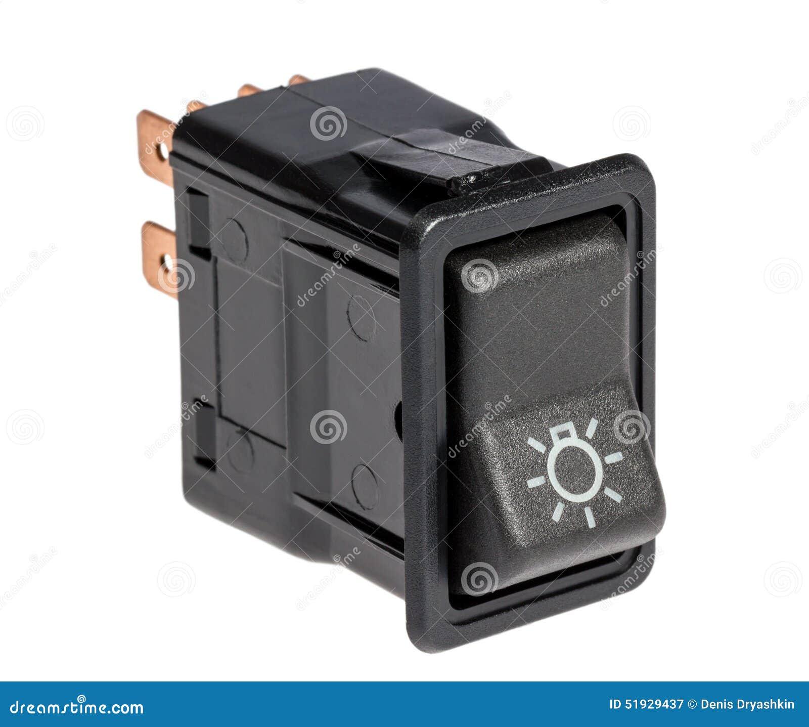Car light control switch
